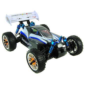 Trojan 1:16 RC Racing Buggy 2.4G - PRO Brushless 4WD Version