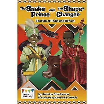 الأمير ثعبان والشكل-المغير-قصص من الهند وأفريقيا ب