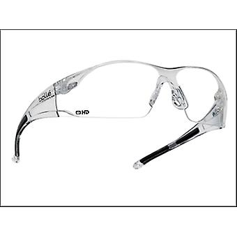 Bollé Safety Rush Safety Glasses - Clear Hd Lens