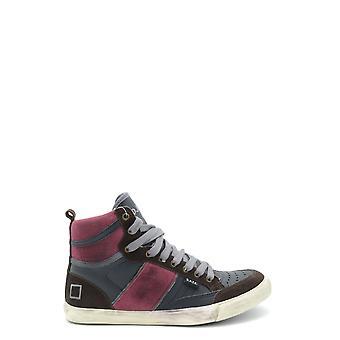 D.a.t.e. Multicolor Leather Hi Top Sneakers