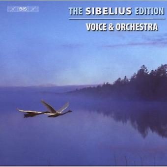 J. Sibelius-the Sibelius Edition, vol. 3: Voice & Orchestra [CD] importation USA