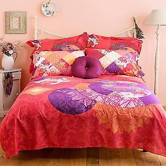Bambury Romantic Patch Quilt Cover Set
