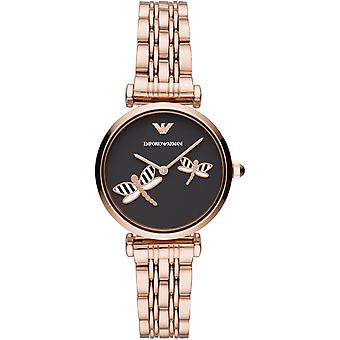 Emporio Armani Ar11206 Ladies Rose Gold-tone Stainless Steel Watch