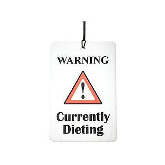 Attenzione - attualmente dieta deodorante per auto