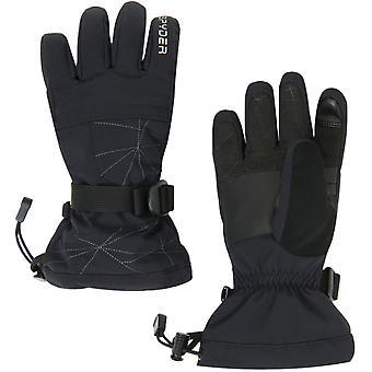 Spyder OVERWEB Gore-Tex Boys Ski Gloves Black