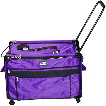 TUTTO Machine On Wheels Case-Purple 9228XXL-PUR
