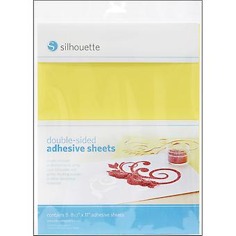 Silhouette Double Sided Adhesive Sheets 8.5