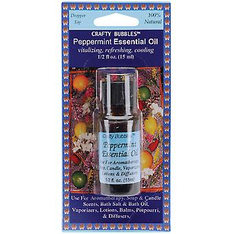 Essential Oils .5 Ounce Pkg Peppermint Cb16