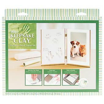 Sculpey Keepsake Clay Frame Set Pet blanc K3 4055