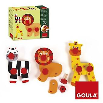 Goula Screw And Play (Toys , Educative And Creative , Motricity)