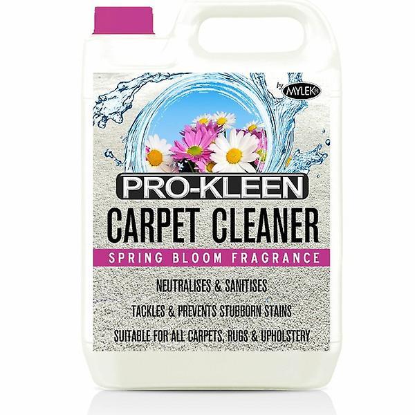 Mylek Upholstry Carpet Cleaning Solution | Ultima Plus Xp | Spring Bloom | 5 Litre