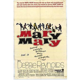 Mary Mary Movie Poster (11 x 17)