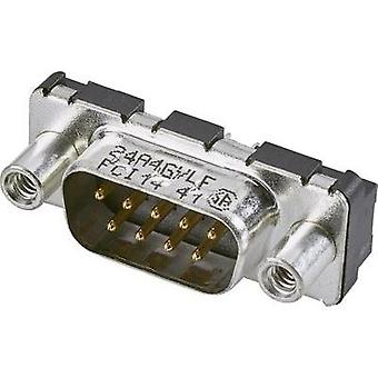 D-SUB pin strip 180 ° Number of pins: 9 Print FCI 1 pc(s)