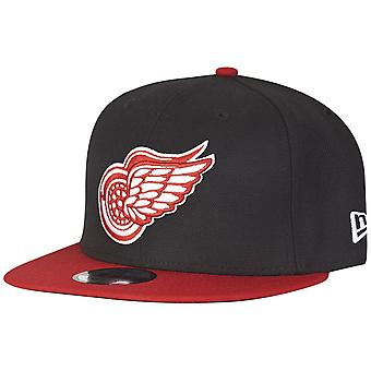 Nuova era 9Fifty cappelli - NHL Detroit Red Wings nero