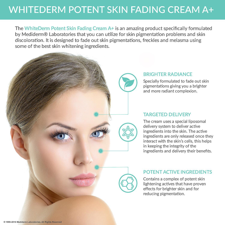 Mediderm WhiteDerm potenter Haut verblassen Creme, A +