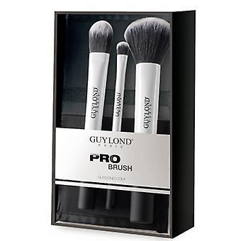Guylond September 3 Brushes With Case (Beauté , Maquillage , Pinceaux)