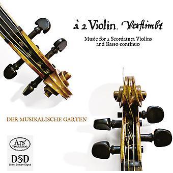 Telemann/Vojta/Kindermann/Schmelzer/Pohle - música para la importación de los E.e.u.u. de la Scordatura violines y bajo Continuo [SACD] 2