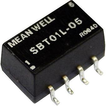 DC/DC converter (SMD) Mean Well 12 Vdc 12 Vdc 84