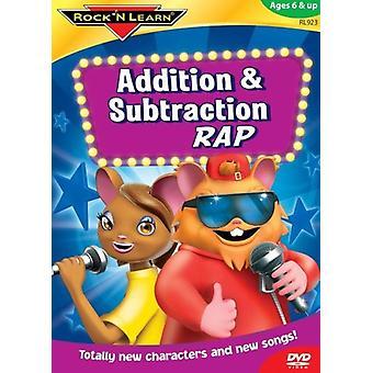 Rock'N Lær - supplement & subtraktion Rap [DVD] USA import
