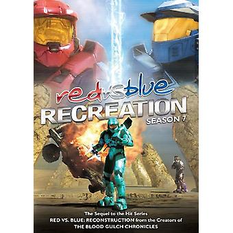 Red vs. Blue-Recreation [DVD] USA import