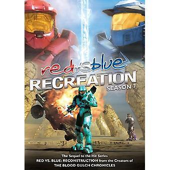 Rött vs. blått-rekreation [DVD] USA import