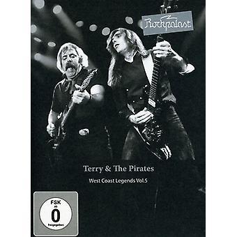 Terry y los piratas - Rockpalast: Terry y lo piratas [DVD] USA importación