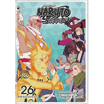 Naruto Shippuden Uncut sat 26 [DVD] USA importerer