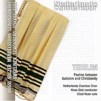 Nezer/Stok/Netherlands Chamber Choir - Tehilim: Psalms Between Judaism and Christianity [CD] USA import