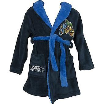 Boys Gormiti Dressing Gown Bathrobe