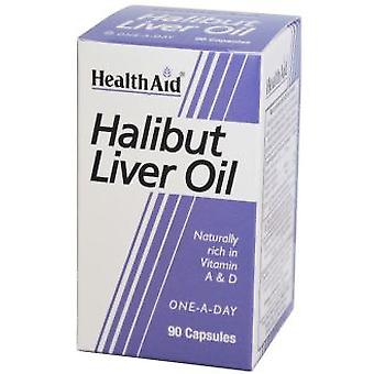 Health Aid Halibut Liver Oil From 90Cap. Health Aid
