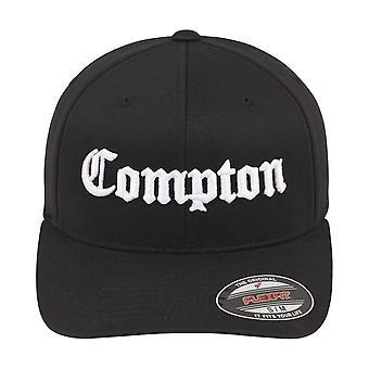 Merchcode Flexfit stretchable Cap - Black Compton