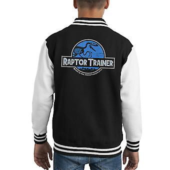 Raptor Trainer Jurassic World Kid Varsity Jacket