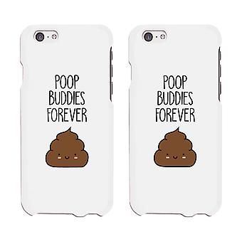Poop Buddies Ultra Slim Phone Cover Funny Matching Gift For Friends