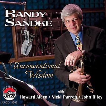 Randy Sandke - ukonventionelle visdom [CD] USA import