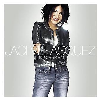 Jaci Velasquez - uudtalte [CD] USA importerer