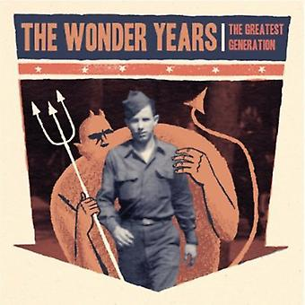 Wonder Years - Greatest Generation [CD] USA import