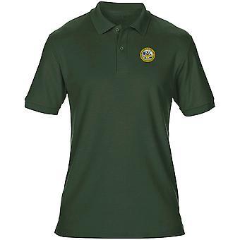 Amerikaanse leger Seal geborduurd Logo - Mens poloshirt