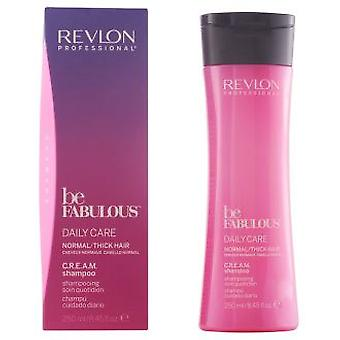 Revlon Be Fabulous Daily Care Shampoo 250 ml (Hair care , Shampoos)