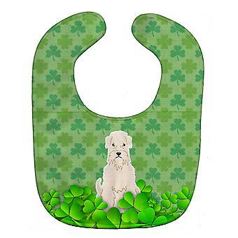 Carolines Treasures  BB6202BIB Soft Coated Wheaten Terrier Shamrocks Baby Bib