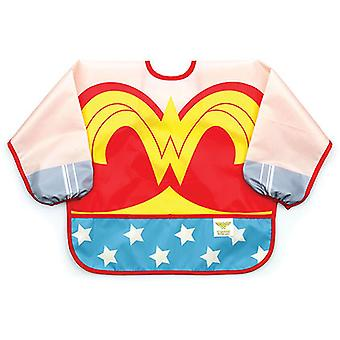 Wonder Woman Costume Sleeved Bib