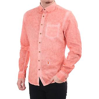 Pearly King Dash Long Sleeve Fitted Shirt