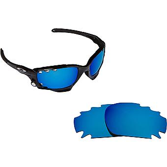 Best SEEK Replacement Lenses - Oakley VENTED RACING JACKET Blue Yellow
