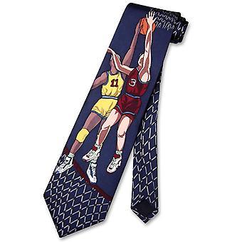 Papillon 100% SILK NeckTie Basketball Design Men's Neck Tie #101-4