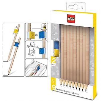 LEGO pencil – 9 pack