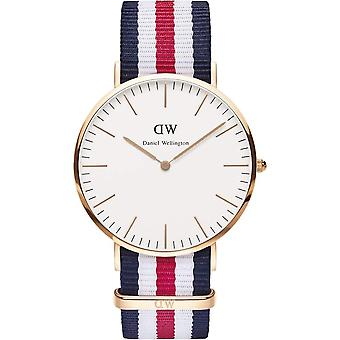Daniel Wellington Herren Canterbury 40mm Uhr DW00100002