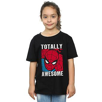 Marvel Girls Spider-Man Totally Awesome T-Shirt