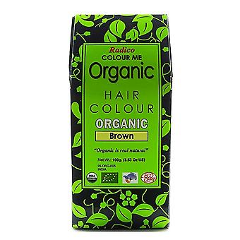 Colour Me Organic, Brown 100g