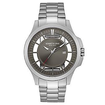 Kenneth Cole New York men's wrist watch analog quartz stainless steel 10027446