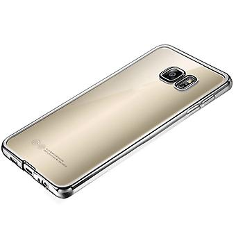Premium TPU Silikoncase silver for Samsung Galaxy S7 G930 G930F
