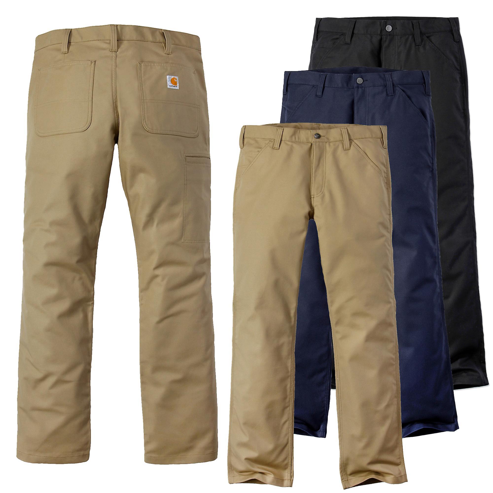 CARHARTT mens Jeans pantalons extensibles robuste en toile